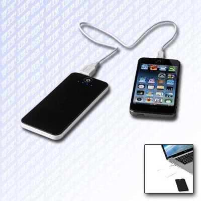 Chargeur power bank design iPhone publicitaire universel